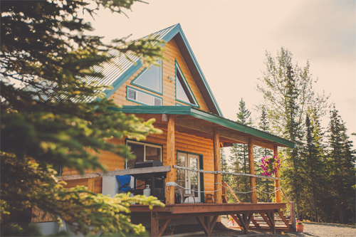 Eagles Retreat Cabin on the Kenai River