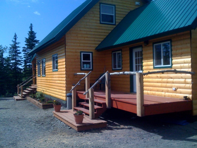 cabins home alaska gallery log in outside north for ak img sale blvd rental pole