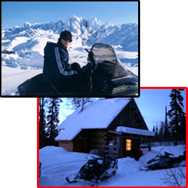 Alaska snowmobile tours